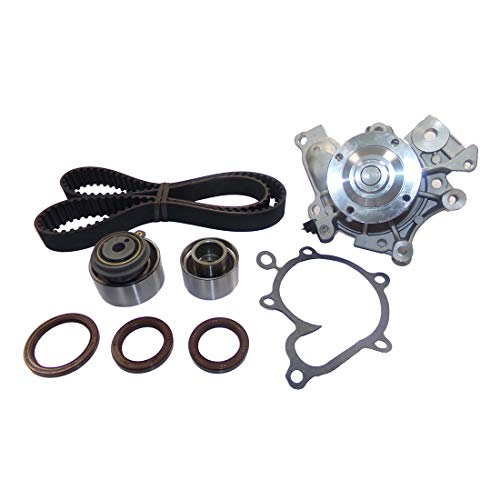 DNJ TBK425WP Timing Belt Kit with Water Pump for 1993-2003 / Ford, Mazda / 626, MX-6, Probe, Protege, Protege5 / 2.0L / DOHC / L4 / 16V / 122cid, 1991cc, 2000cc