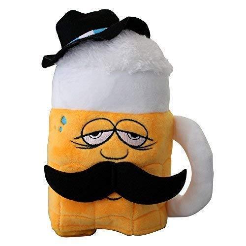 Fan-O-Menal Laber-Bierkrug mit Schnurbart und Hut - plappert Alles nach und Tanzt dabei - - 39705