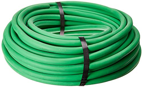 1/0 Gauge Premium Extra Flexible Welding Cable 600 VOLT - GREEN - 100 FEET - EWCS Spec - Made in the USA!