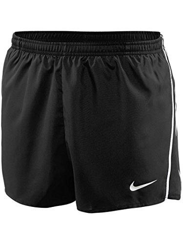 Nike Mens Tempo Split Shorts Trainingsshorts, Team Schwarz/Team weiß, XXL