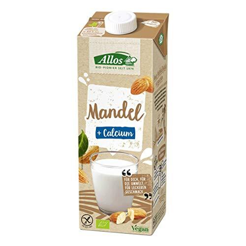 Allos - Mandel Calcium Drink - 1 l - 6er Pack