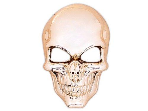 Alsino Totenkopfmaske Vendetta Maske Karneval Saw Fasching Maske Blue Mask Kostüme Geist, wählen:Totenkopf Gold