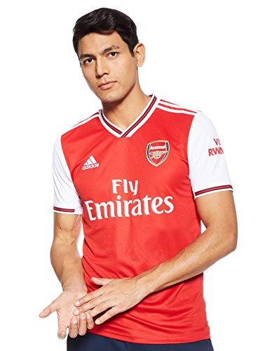 adidas 2019-2020 Arsenal Home Football Soccer T-Shirt Jersey
