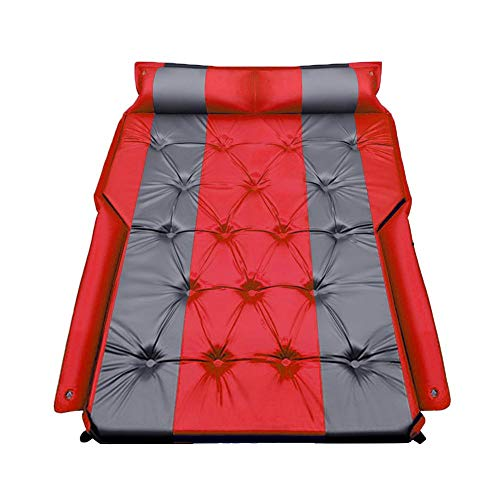 N/P Multifunctional Car Air Mattress,Car Automatic Air Mattress, Trunk Travel Thickened Air Bed SUV Air Mattress, Portable Camping Outdoor Mattress with Storage Bag, for Outdoor Camping Hiking