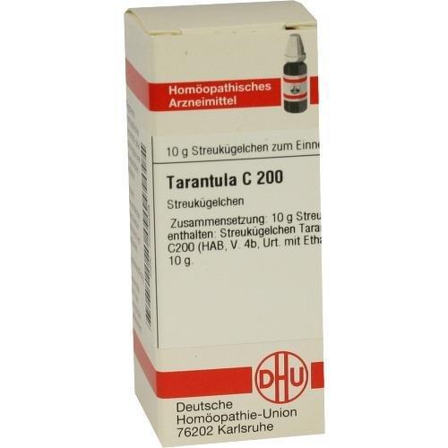 TARANTULA C 200 Globuli 10 g