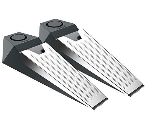 tiiwee Alarm Türstopper Türalarm Einbruchschutz 110dB - 2er Set mit Batterien