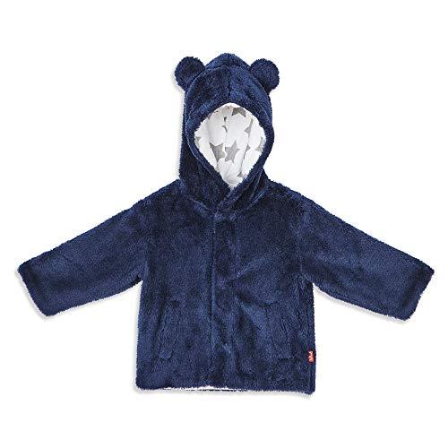 Magnificent Baby Magnetic Me Baby Bear - Chaqueta con capucha magnética para bebé, multicolor/fantasía (Inky), 0-6M (8-16 lb)