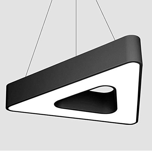 CAIMEI Lámpara Luz de Línea Colgante Minimalista Moderna, Lámpara de Araña de Oficina Creativa Led, Luz de Línea Colgante de Triángulo, Lámpara de Araña Simple Y Elegante