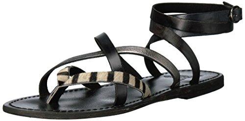 Freebird Women's Baja Slide Sandal, Black/Multi, 7 B US