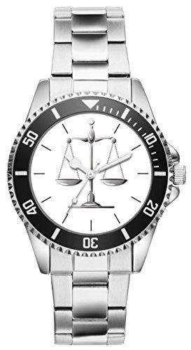 Geschenk für Anwalt Richter Richterin Anwältin Uhr 20181
