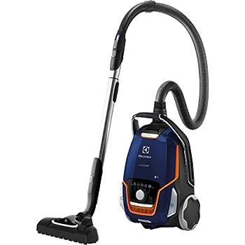 Electrolux EUO93DB 850 W - Aspiradora (850 W, 26,8 kWh, Aspiradora cilíndrica, Bolsa para el polvo, 5 L, Negro, Azul, Naranja): Amazon.es: Hogar