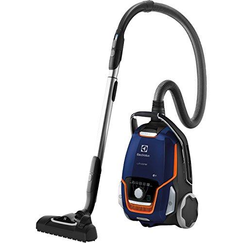 Electrolux EUO93DB - Aspirateur cylindrique de 850 W, 26,8 kWh, avec sac à poussière, 5 L, noir, bleu et orange