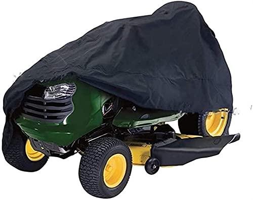 XBSXP Cubierta para cortacésped, Cubierta de carenado Frontal para Tractor de jardín de césped, Tela Oxford Impermeable, Ajuste Universal, antiprotección, Duradera, 210D, a Prueba de Pol