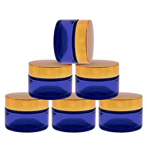 Creme Glas mit Weitem Mund Design für Die Einfache Aufbewahrung von Cream Frosting Size (6PCS)