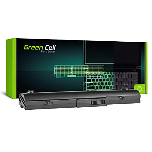 Green Cell Batería para ASUS EEE PC 1001PX-WHI002X 1001PX-WHI0065 1001PXB 1001PXD 1005 1005H 1005HA 1005HA-A 1005HA-BLK242X 1005HA-E 1005HA-M 1005HA-MU17-BK Portátil (4400mAh 11.1V Negro)