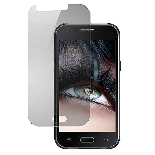 mtb more energy® Schutzglas für Samsung Galaxy J1 / J1 Dual / J1 LTE (SM-J100, 4.3'') - Tempered Glass Protector Schutzfolie Glasfolie