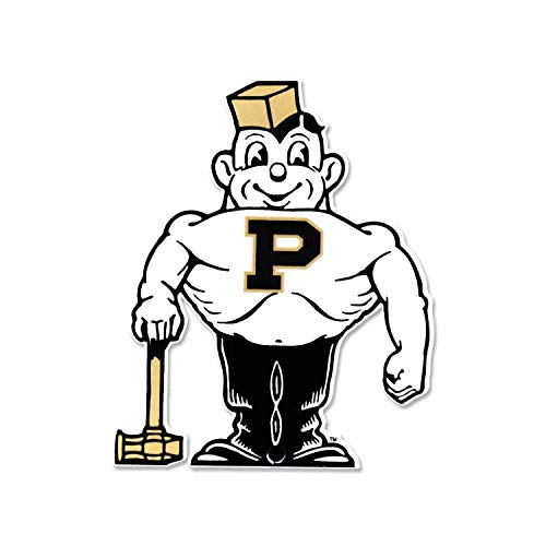 Authentic Street Signs NCAA Super Steel 4 Inch Magnet (Purdue Boilermakers Vintage Pete)