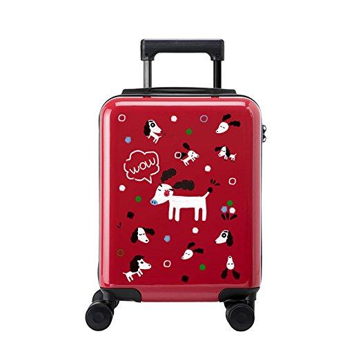 Maleta ligera de la maleta TSA Lock PC Funda rígida de la...