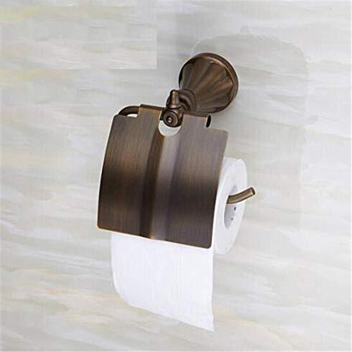 Hochwertiger Rollenhalter Papierrollenhalter mit Deckel Papierrollenhalter Antique Copper Toilette Toilettenpapierfach Rollenhalter