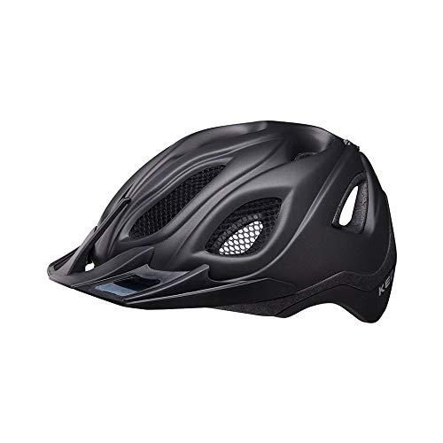 KED Certus Pro L Black matt - 55-63 cm - inkl. RennMaxe Sicherheitsband - Fahrradhelm Skaterhelm MTB BMX Erwachsene Jugendliche