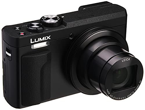 Panasonic Compact Digital Camera Lumix TZ90 Optical 30 times Black DC-TZ90-K(Japan Import-No Warranty)