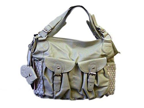 Friis & Company Tasche Damentasche Handtasche Tragetasche Rouge Bag Grey