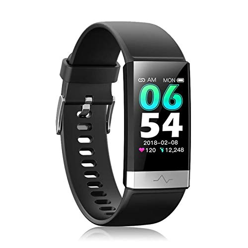 Budding Joy Fitness Tracker, Activity Tracker Watch with Heart Rate Monitor Sleep Monitor Blood Pressure Call Reminder,IP68 Smart Band with Calorie Counter,Pedometer for Kids Men Women and Gift