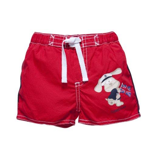Chicco - Boxer de Bain - Bébé Garçon - Rouge - 12 Mois