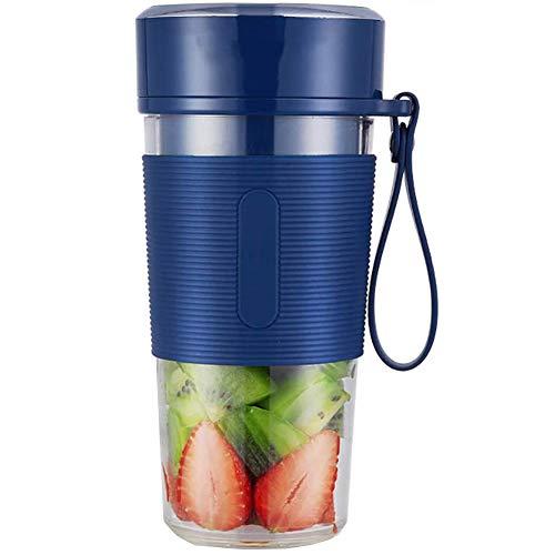 N /A YXY-Tech Mini Draagbare Blender Mini Persoonlijke Blender Kleine Smoothie Blender USB Fruit Juicer Cup voor Thuis&Reizen, Oplaadbare USB Juicer Fles