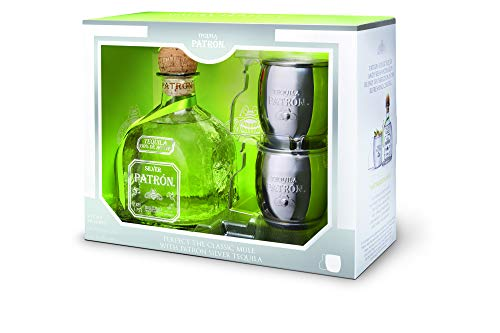 Patron Silver Tequila Limited Edition Mule Becher Set (1 X 0.7 L)