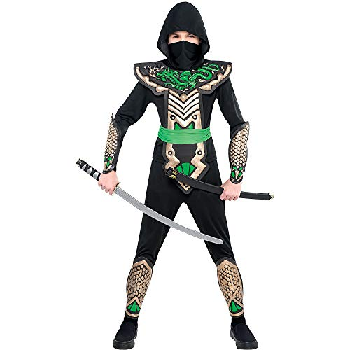 amscan Boys Ninja Dragon Slayer Costume...