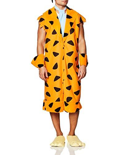 The Flintstones Fred Costume, Orange/Black, Standard, Medium