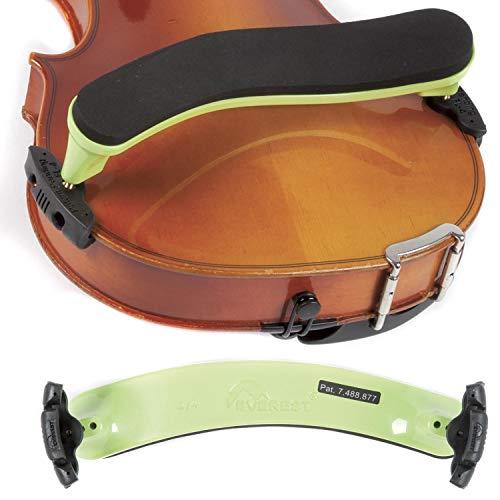 Everest 4/4 Violin ES Neon Green Shoulder Rest