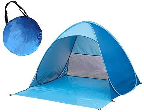 Tienda Playa Parkarma Tienda de Campaña Anti-UV Tienda de Playa Impermeable Tienda de Playa Portátil para Picnic Familiar de Pesca en Camping