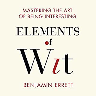 Elements of Wit audiobook cover art