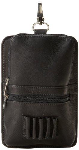 Piel Leather All-In-One Golf-Tasche in Schwarz, Einheitsgröße