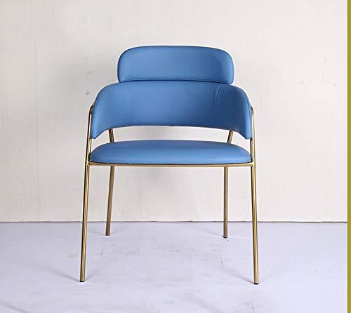 GRF Edelstahl Buch Stuhl Schminktisch Stuhl Zurück Stuhl Freizeit Stuhl Esszimmerstuhl Licht Esstisch Stuhl