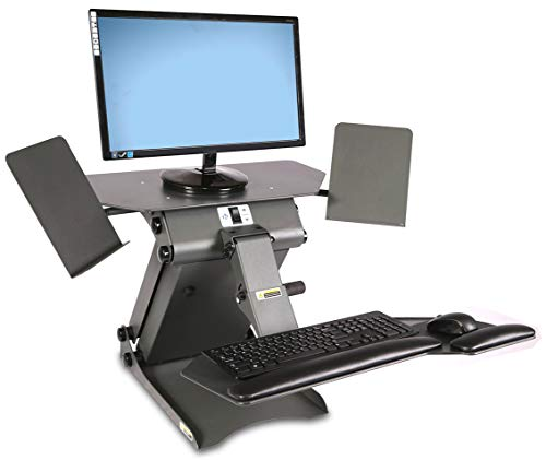 HealthPostures TaskMate Executive 6100 Adjustable Electric Standing Desk