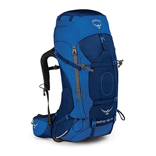 Osprey Aether AG 60 Men's Backpacking Pack - Neptune Blue (MD)