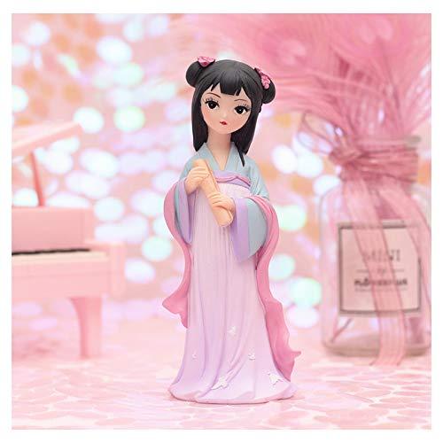 Jiuyue Chica De Estilo De La Corte China, Adornos Retro De Decoración del Hogar, Soy Una Serie De Princesas, Se Puede Usar como Regalo De Cumpleaños para Mi Chica Favorita -18