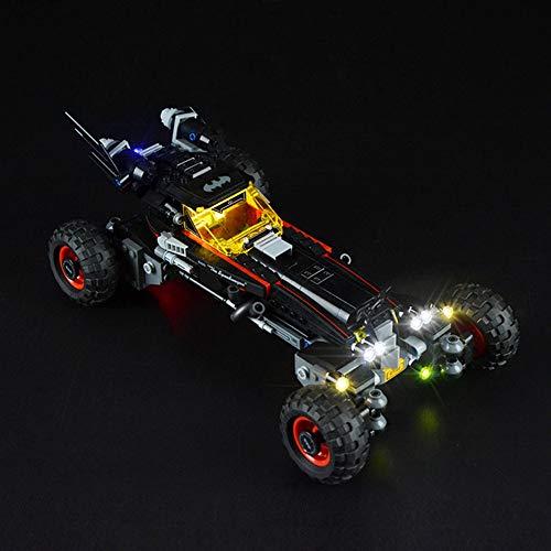 WDLY LED Kit De Iluminación En Batman Chariot - Compatible con Lego 70905 Bloques De Construcción del Modelo No Incluye El Conjunto De Lego