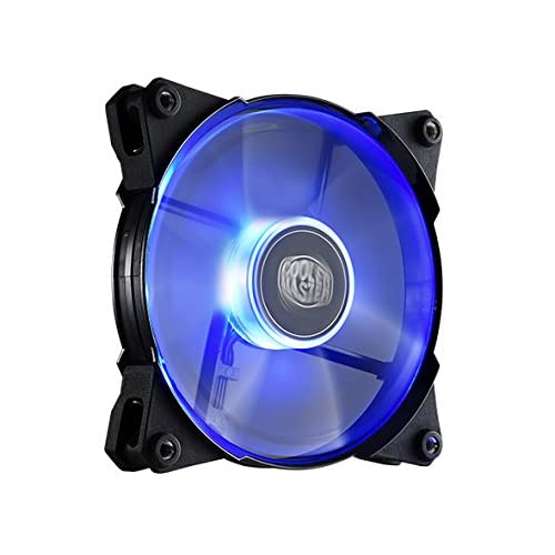 Cooler Master JetFlo 120 R4-JFDP-20PB-R1 High Performance 120mm LED Fan
