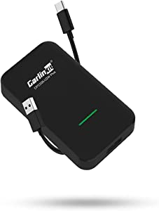 CarlinKit 3.0 CarPlay Wireless Connection, Knowing Your Car. Updated UI interface, Wireless CarPlay Adapter fit for iPhone iOS 14.5 Above, compatible with Apple CarPlay Cars from 2017 to the Present