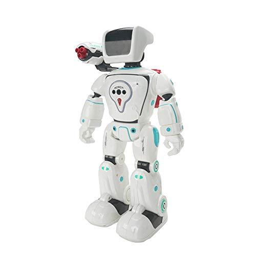 Robot La Energía Hidráulica Creativa Inteligente Híbrido RC Robot Programable Gesto De Detección De Disparo Voice Interaction Sing Danza del Robot De Juguete Animación Infantil