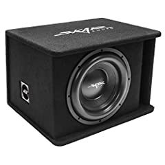 """Sdr series single 12-inch D2 ohm loaded Subwoofer Enclosure Peak Power: 1, 200 Watts 