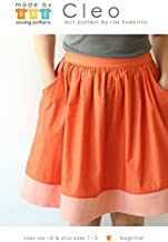 Made By Rae Ladies Easy Sewing Pattern Cleo Skirt