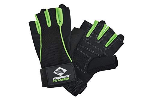 Schildkröt Fitness HANDSCHUH PRO  (Größe L-XL, black-green), 960154