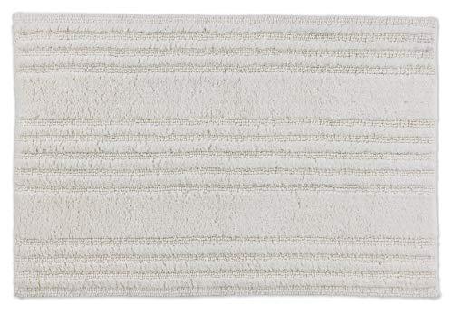 Schöner Wohnen Badmat, aan beide zijden bruikbaar, wasbare badmat, strepen, 100% katoen, 8 kleuren in 2 maten