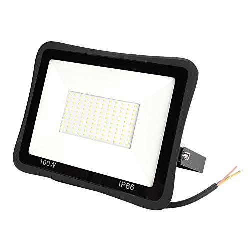 koulate Outdoor-Landschaftsflutlicht, AC185-265V 100W Super Bright Spotlights Sicherheitsleuchten f¨¹r D?Cher, Turnhallen, Geb?Ude, Stra?en, Stra?en