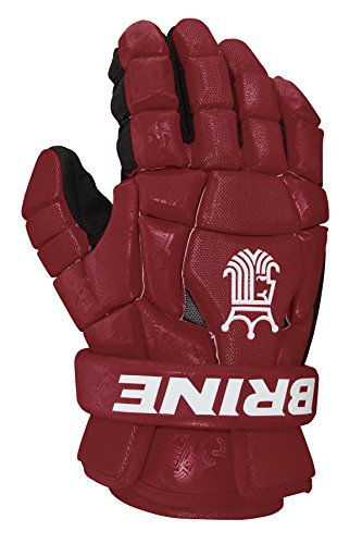 Brine King Superlight 2 Lacrosse Glove, Maroon, 12-Inch